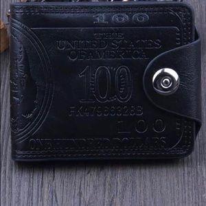 $100.00 Dollar Bill Wallet